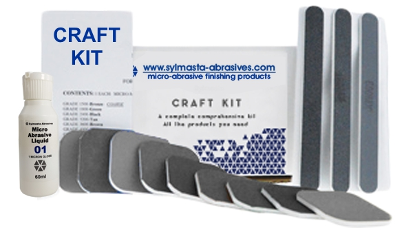 Sylmasta Abrasives Craft Polishing Kit which is used for detail polishing in model making and restoration